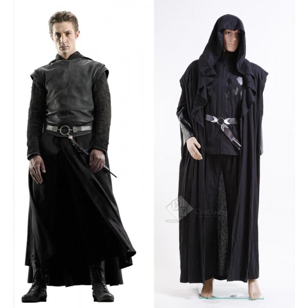 Harry Potter Death Eater Lord Voldemorts' Confederate Windbreaker Cosplay Costume