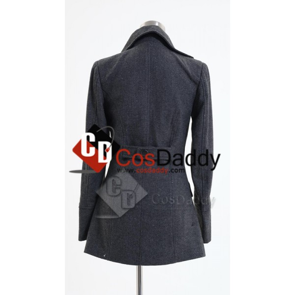 Harry Potter Hermione Granger Grey Coat Cosplay Costume