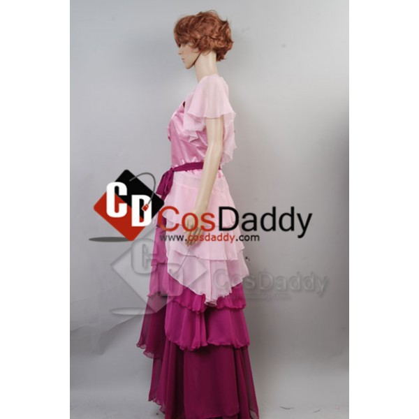 Harry Potter Hermione Granger Yule Ball Gown Dress Cosplay Costume