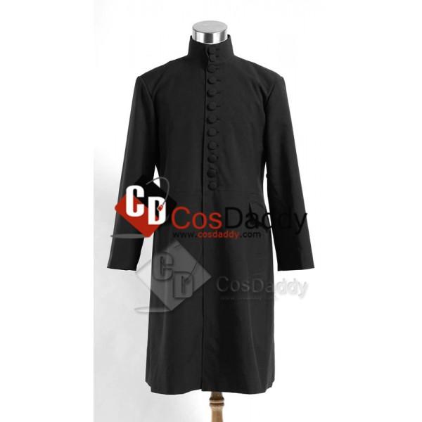 Harry Potter Severus Snape Coat Black Version Cosplay Costume