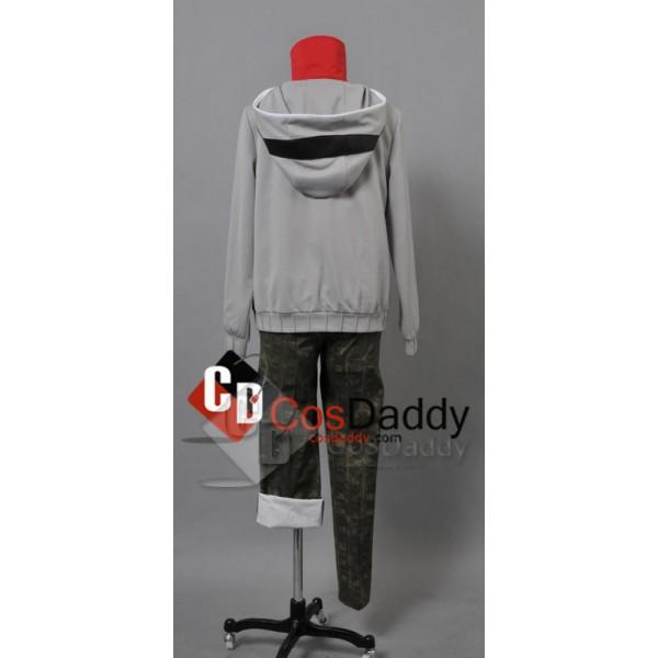 Heat Haze Project (Kagerou Project) Kido Tsubomi Hoodie Cosplay Costume