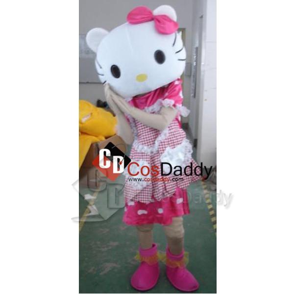 Hello Kitty Mascot Costume Style A