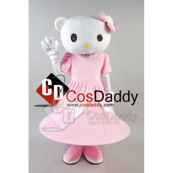 Hello Kitty Mascot Costume Style B