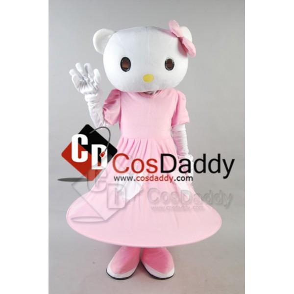 Hello Kitty Mascot Costume Style B