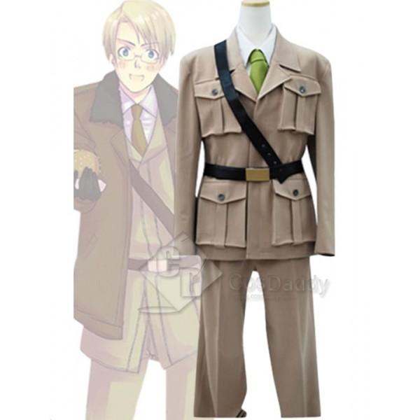 Hetalia:Axis Powers America Uniform Cosplay Costume