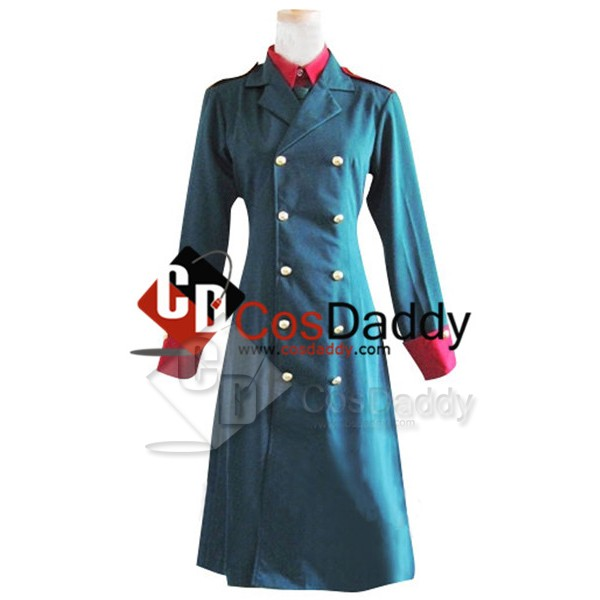 Hetalia: Axis Powers Denmark Uniform Cosplay Costu...