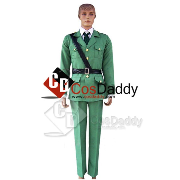 Hetalia:Axis Powers Lithuania Uniform Cosplay Cost...