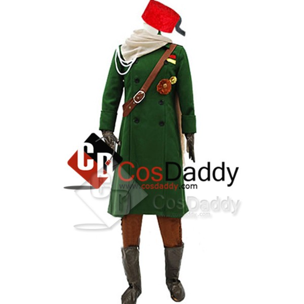 Hetalia:Axis Powers Turkey Uniform Cosplay Costume