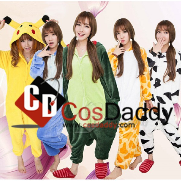 Unisex Adult Pajamas Kigurumi Animal Sleepwear