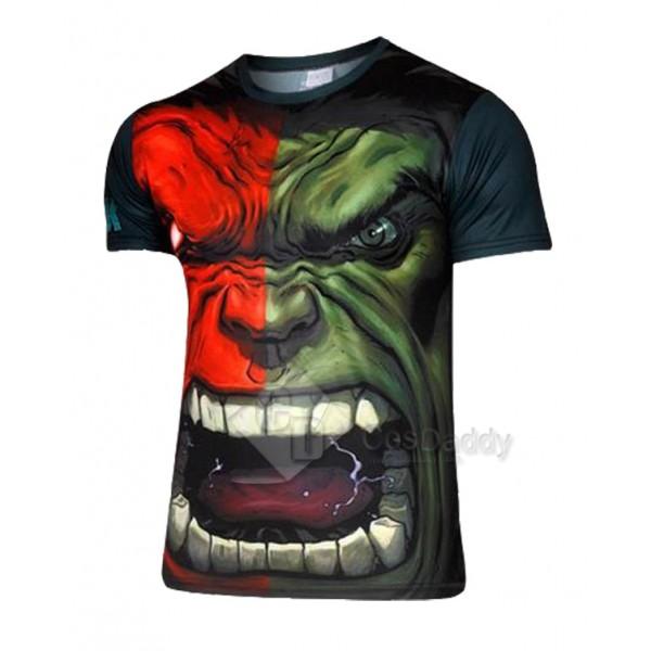 Hulk T shirt Tee Marvel Comics T-Shirt