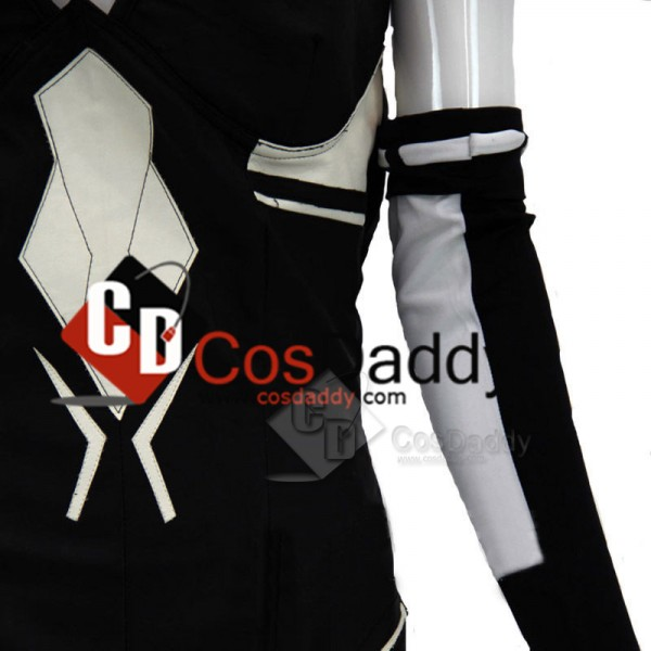 Hyperdimension Neptune Black Heart Uniform Outfit Cosplay Costume