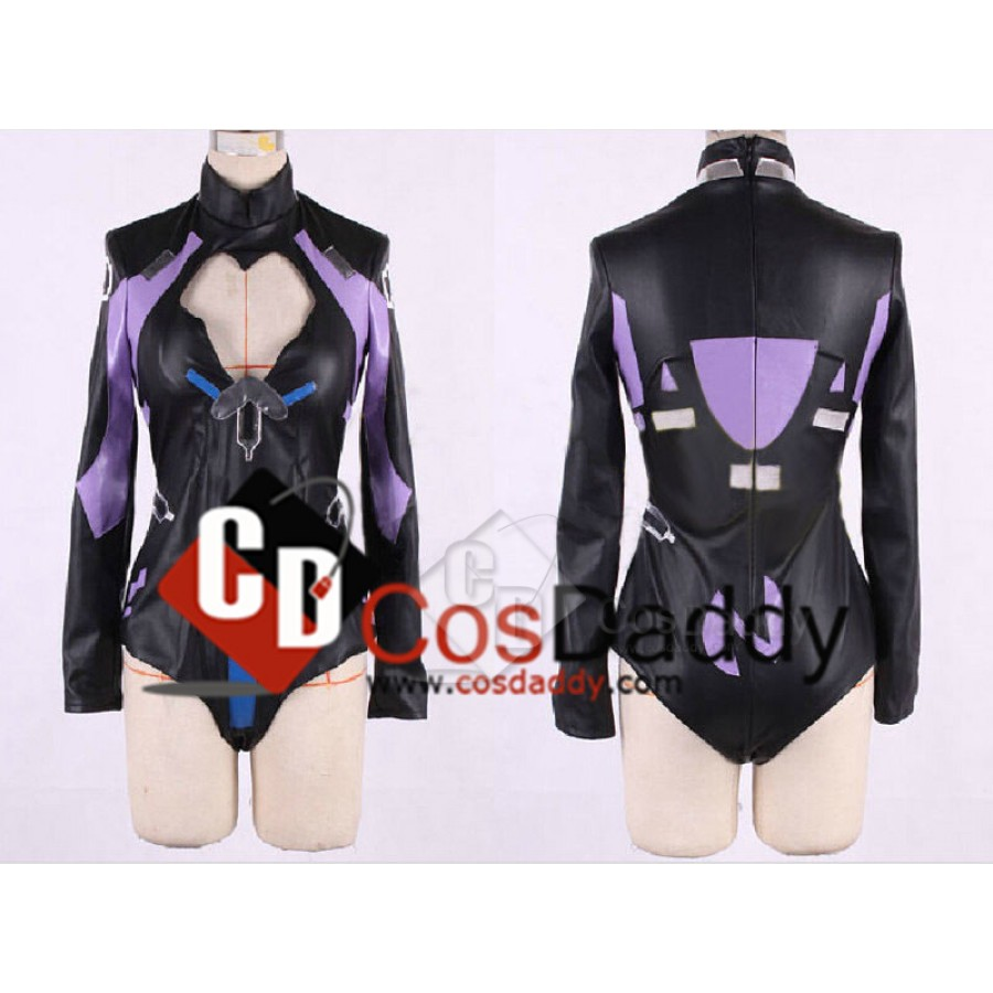 Hyperdimension Neptunia Purple Heart Uniform Cosplay Costume,Customized Any Size
