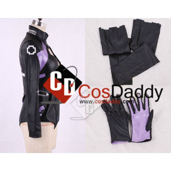 Hyperdimension Neptune Purple Heart Uniform Outfit Cosplay Costume