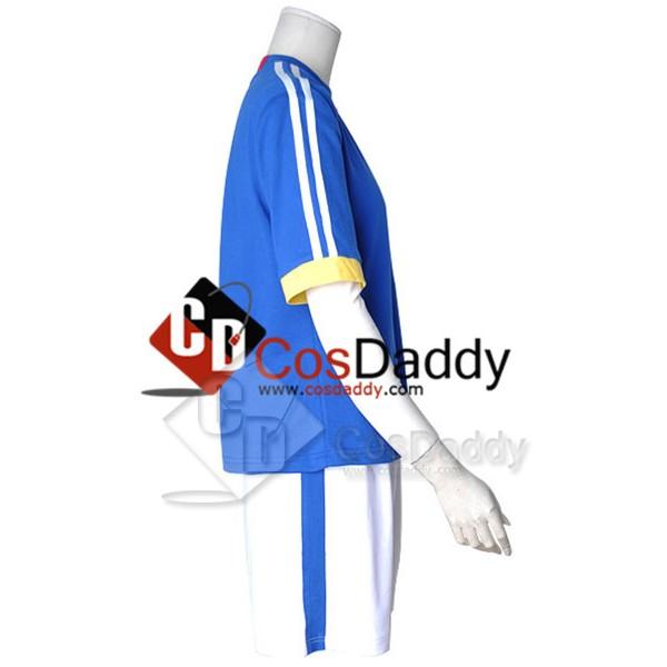 Inazuma Eleven Japan Soccer Team Uniform Cosplay Costume