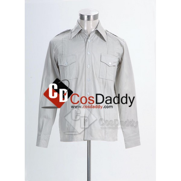 Indiana Jones Harrison Ford Shirt Cosplay Costume
