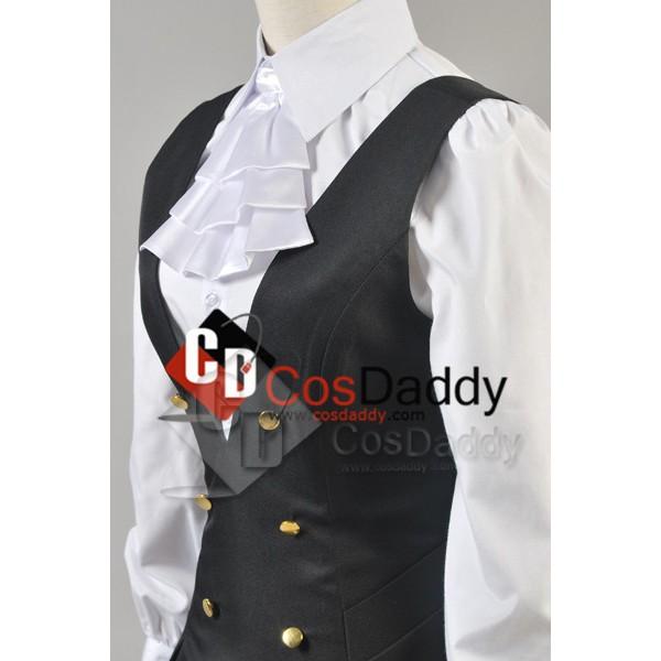 Inu x Boku SS Shirakiin Ririchiyo Girl Uniform Dress Cosplay Costume
