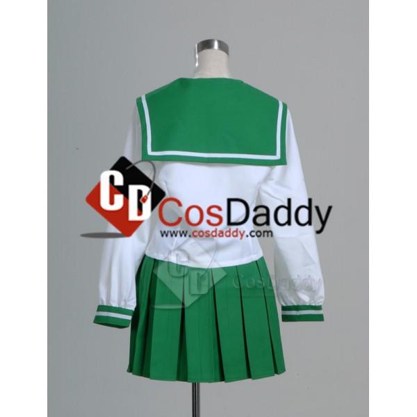 Inuyasha Kagome Higurashi Cosplay Costume Outfit