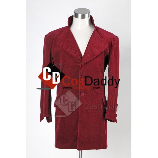Johnny Depp Willy Wonka Charlie and the Chocolate Factory Jacket Cosplay Costume