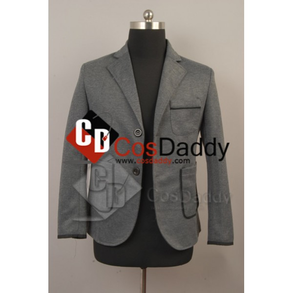 Justin Bieber Gray Leisure Suit Jacket Coat Costum...