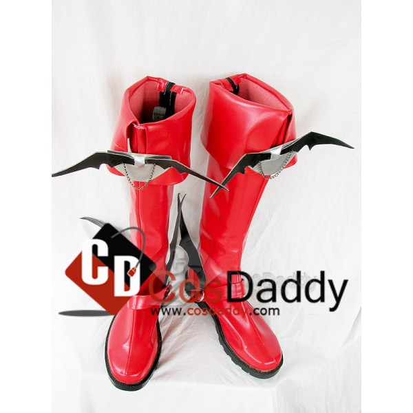 Mabinogi Male Succubus Cosplay Boots Shoes Custom ...