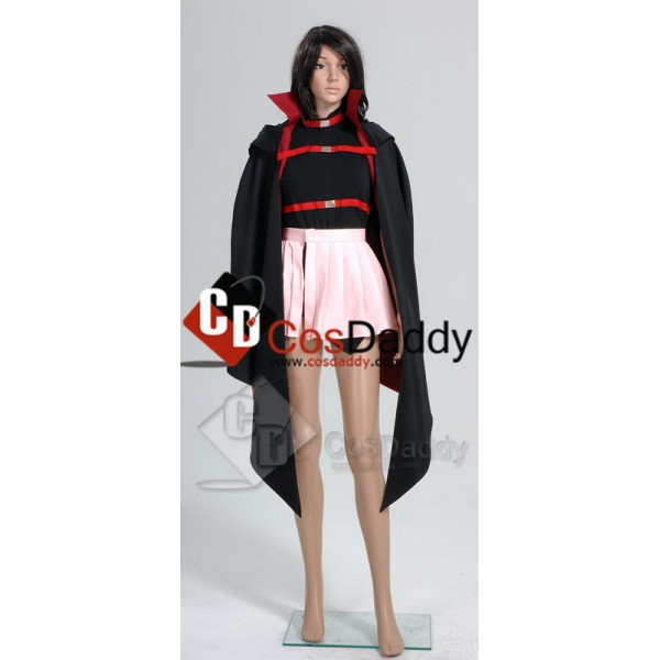 Magical Girl Lyrical Nanoha Fate Testarossa Cosplay Costume