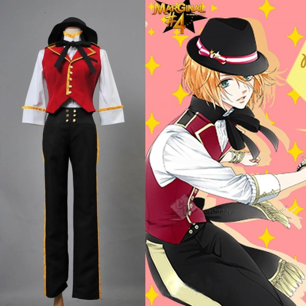 MARGINAL#4 Idol of Supernova Aaru Nomura Uniform Outfit Cosplay Costume