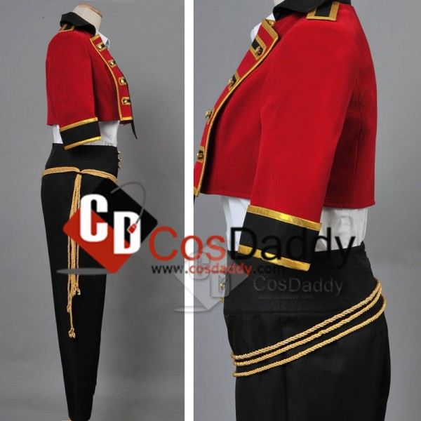 MARGINAL#4 Idol of Supernova Atom Kirihara Uniform Full Set Cosplay Costume