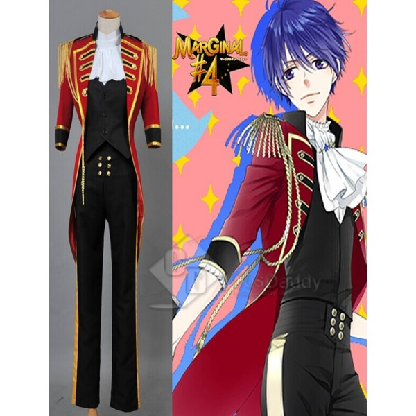 MARGINAL#4 Idol of Supernova Rui Aiba Uniform Outfit Cosplay Costume