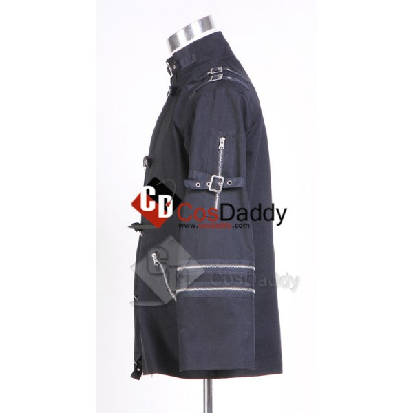 Michael Jackson Bad Black Jacket Cosplay Costume