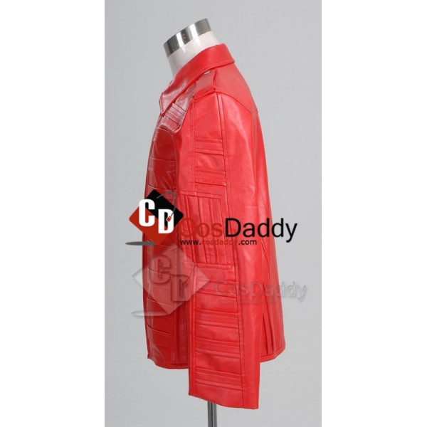 Michael Jackson Man in the Mirror Pleather Jacket Cosplay Costume