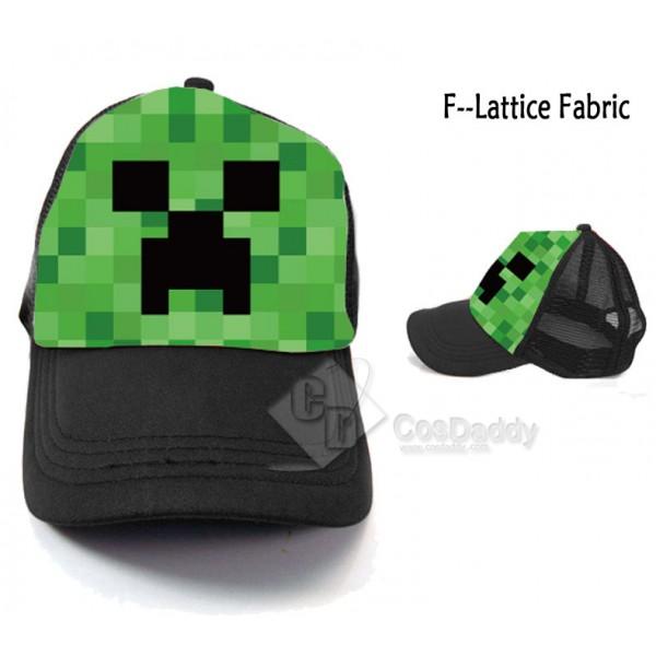 Minecraft Creeper Cap Multi-color