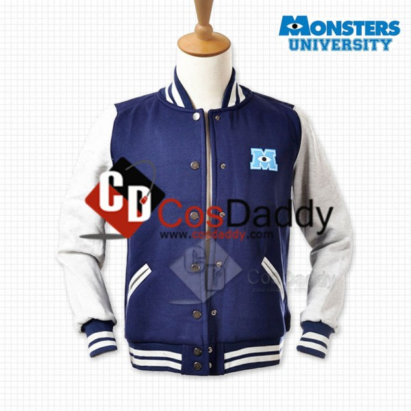 Monsters University Varsity Jacket Blue Adult Costume