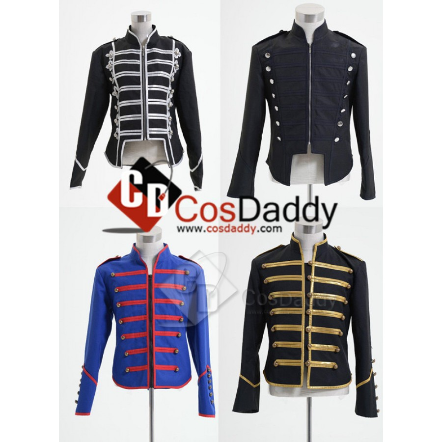 My Chemical Romance Military Parade Party Poison Coat Jacket Cosplay Costume