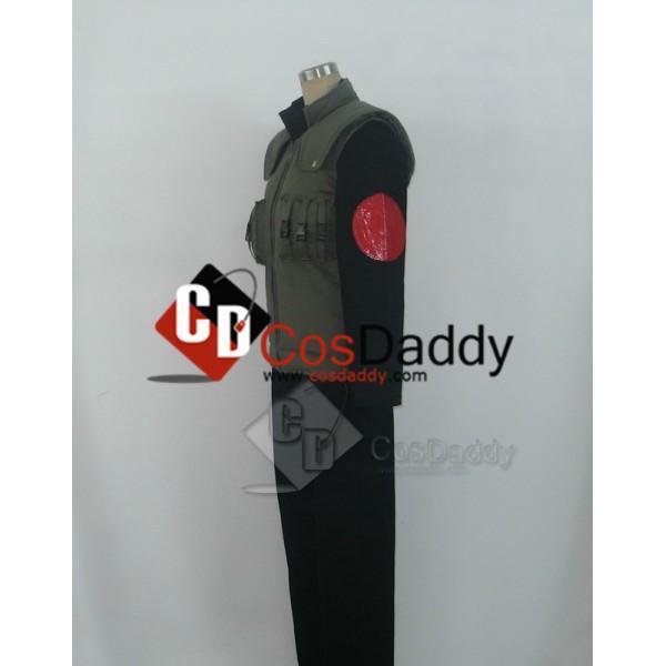 Naruto Kakashi Hatake Black Cosplay Costume