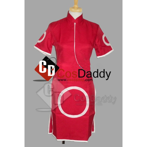 Naruto Sakura Haruno Dress Cosplay Costume