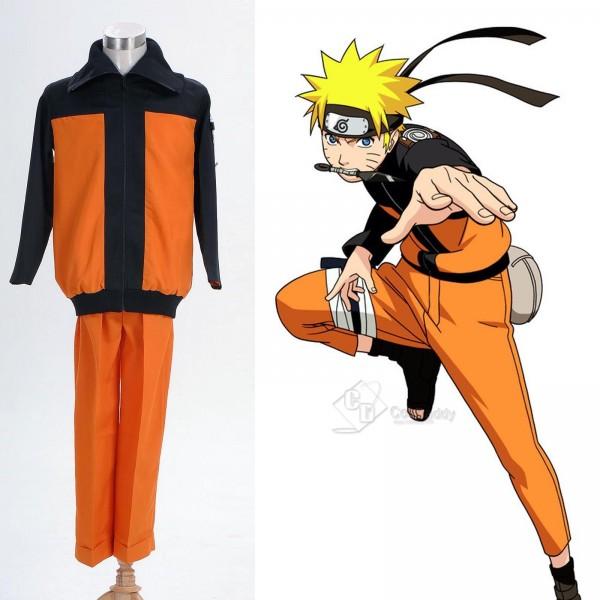 Naruto Shippuden Naruto Uzumaki Cosplay Costume Version A