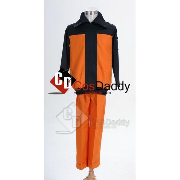 Naruto Shippuden Naruto Uzumaki Cosplay Costume Ve...