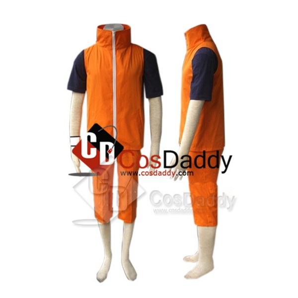 Naruto Shippuden Uzumaki Naruto Cosplay Costume Ve...