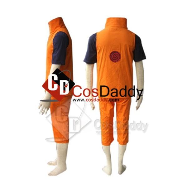 Naruto Shippuden Uzumaki Naruto Cosplay Costume Version B
