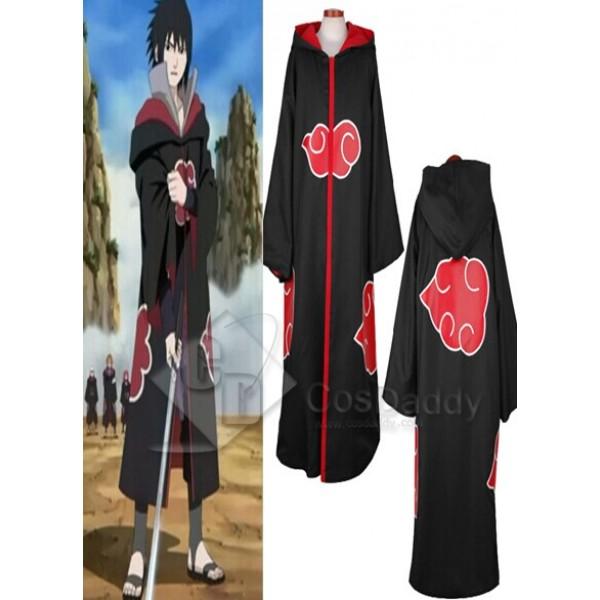 Naruto Team Taka Hawk Sasuke Uchiha Cosplay Costume(Hooded Version)