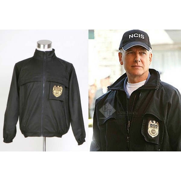 NCIS Black Staff Jacket Cosplay Costume