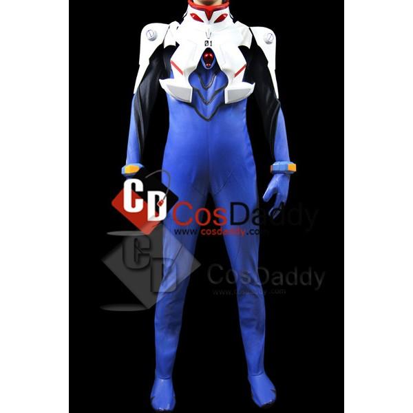 Neon Genesis Evangelion EVA Cosplay Jumpsuit Cospl...