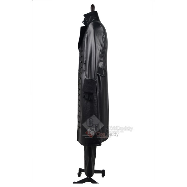Once Upon A Time Captain Hook Black Jacket Cosplay Costume