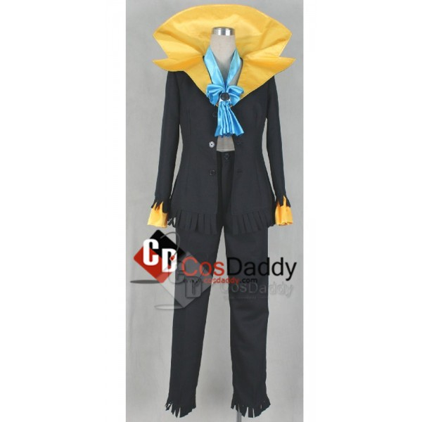 One Piece Brook Uniform Cosplay Costume