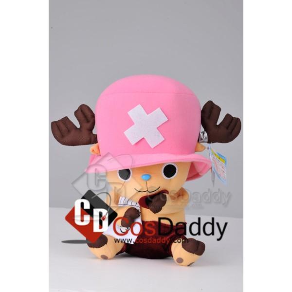 One Piece Tony Tony Chopper Stuffed Toy Plush Eating