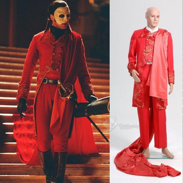 Phantom of the Opera Masquerade Halloween Fancy Suit Cosplay Costume
