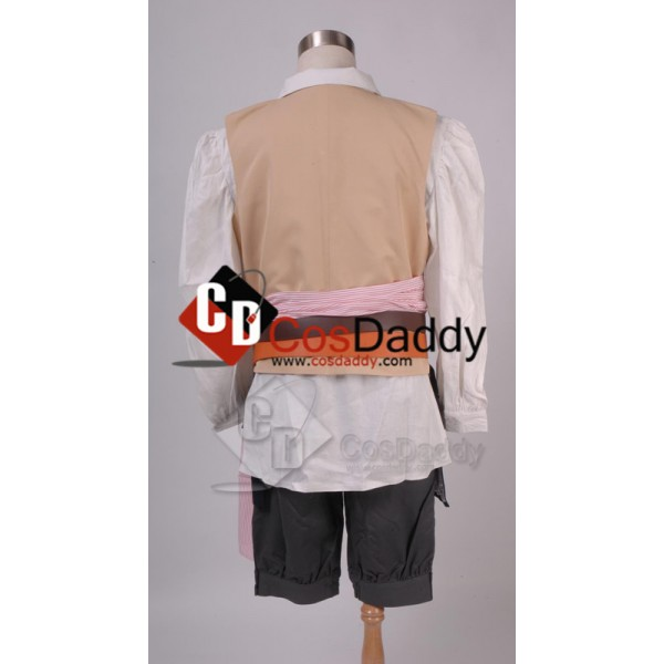 Pirates of the Caribbean 4: Jack Sparrow Cosplay Costume