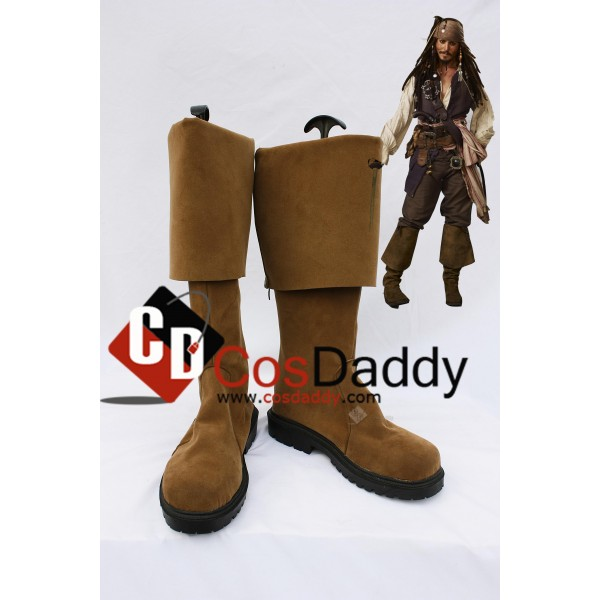 Pirates of the Caribbean Jack Sparrow Cosplay Boot...