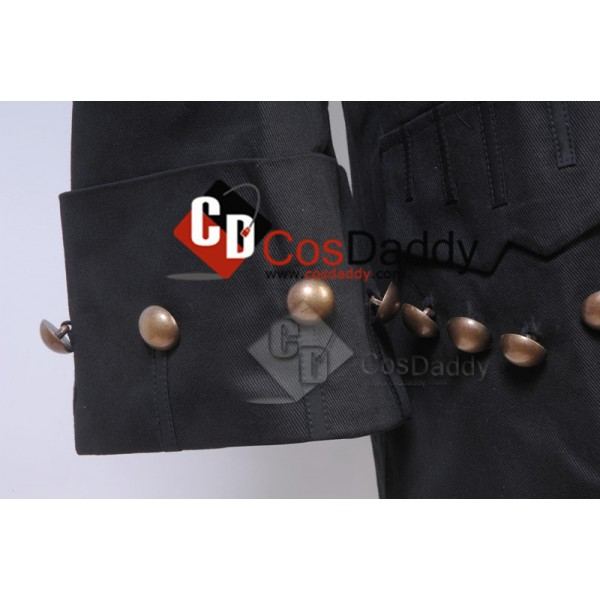 Pirates of the Caribbean Barbossa Jacket Cosplay Costume