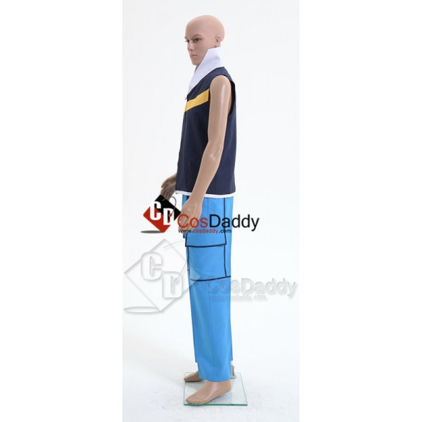 Pokemon Ash Ketchum Cosplay Costume Style A